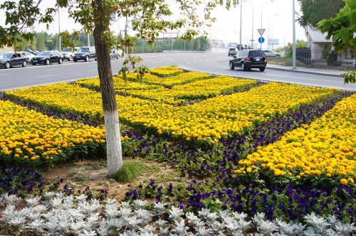 Цветники Астаны